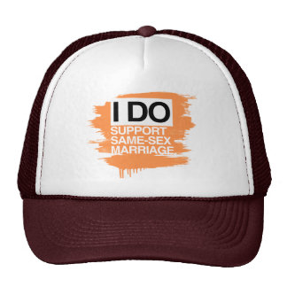 I DO SUPPORT SAME-SEX MARRIAGE HATS