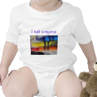 I eat crayons baby creeper