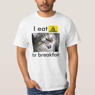 I Eat Tea Party Rattlesnakes For Breakfast T-Shirt