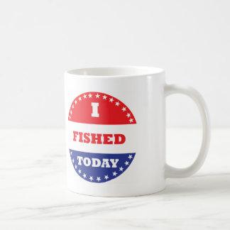 I Fished Today Coffee Mug