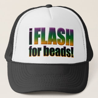 I Flash for Beads Hat