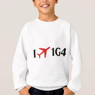 I Fly 1G4 - Grand Canyon West Airport, Peach Sprin Sweatshirt