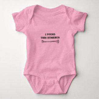 i found this humerus. baby bodysuit