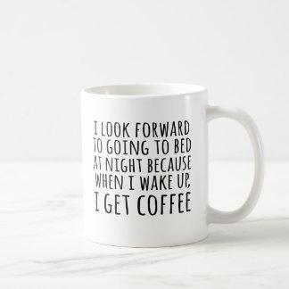 I Get Coffee in the Mornings Coffee Lover's Mug