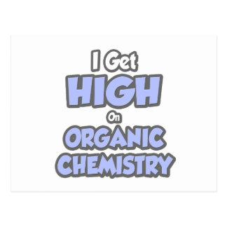 I Get High On Organic Chemistry Postcard