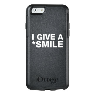 I GIVE A SMILE - WHITE TEXT CASE