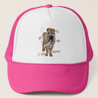 I Give Kisses Shar-pei Trucker Hat