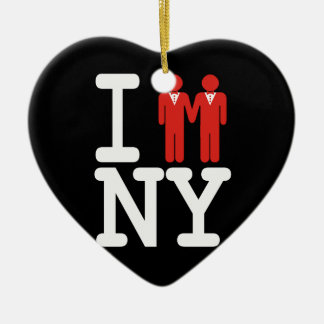 I GOT MARRIED IN NY MEN -.png Christmas Ornament
