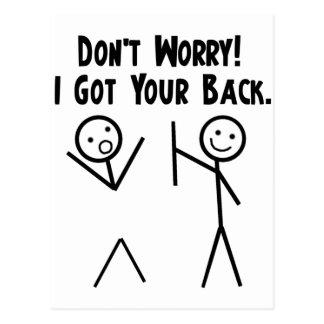 I Got Your Back! Postcard