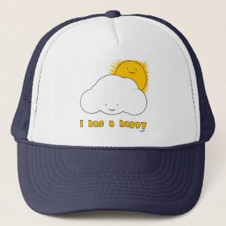 I Has A  Happy Trucker Hat