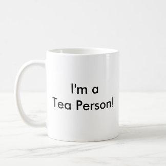 I Hate Coffee!, I'm a Tea Person! Coffee Mug