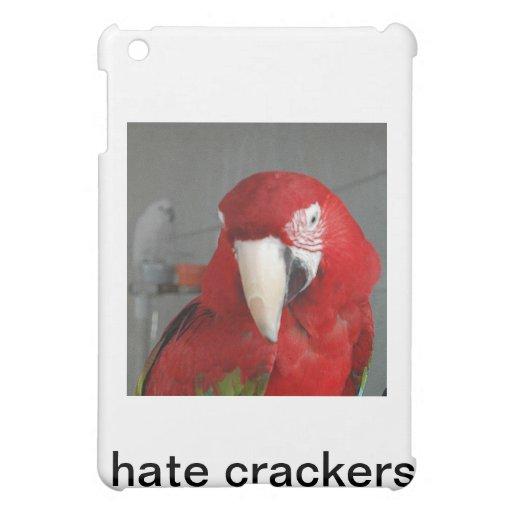 I hate crackers iPad mini cover