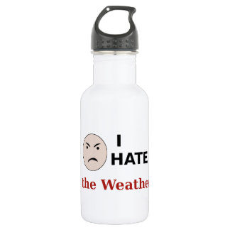 I Hate the Weather 532 Ml Water Bottle