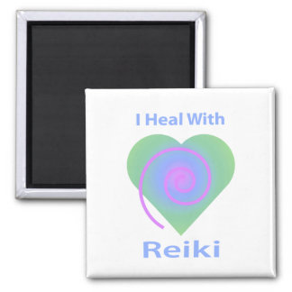 I Heal with Reiki Magnet