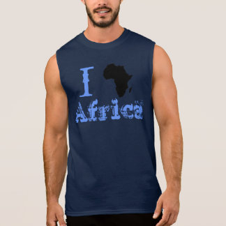 I heart Africa Sleeveless Shirt
