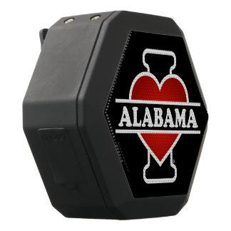 I Heart Alabama Black Bluetooth Speaker