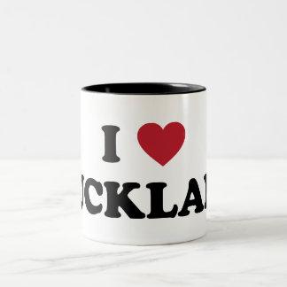 I Heart Auckland New Zealand Products Two-Tone Coffee Mug