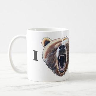 I Heart Bears Basic White Mug