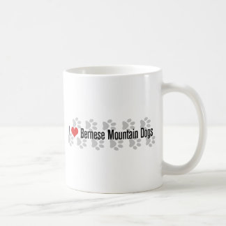 I (heart) Bernese Mountain Dogs Coffee Mug