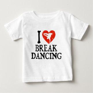 I Heart Breakdancing - Guy Baby T-Shirt