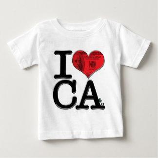 I (heart) CA-sh Baby T-Shirt