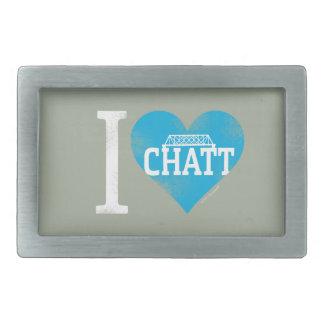 I Heart Chatt Collection Belt Buckles