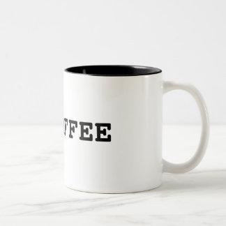 I Heart Coffee Two-Tone Mug