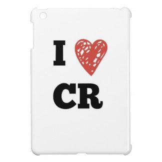 I Heart CR - Cedar Rapids Iowa iPad Mini Cover