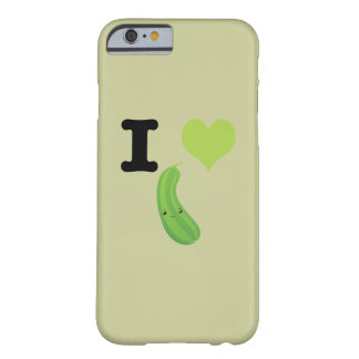 I Heart Eggplant Barely There iPhone 6 Case