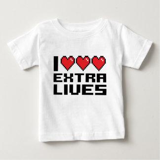 I Heart Extra Lives Baby T-Shirt