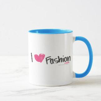 I Heart Fashion Magenta Mug