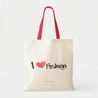 I Heart Fashion Purple Bag