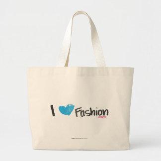 I Heart Fashion Yellow Canvas Bag