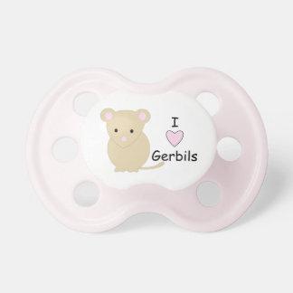 I Heart Gerbils Pacifier