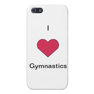 I Heart Gymnastics (Customizable) iPhone 5 Covers