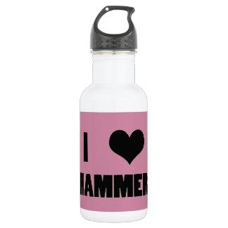 I Heart Hammer, Hammer Throw Water Bottle 532 Ml Water Bottle