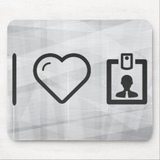 I Heart Identitys Mouse Pad