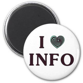 I Heart Info Magnet