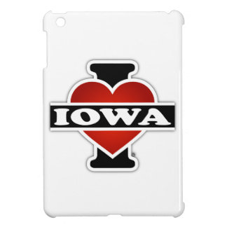 I Heart Iowa iPad Mini Cover