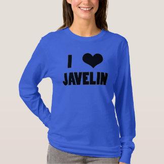 I Heart Javelin, Javelin Throw Shirt