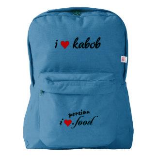 I heart kabob I love kabob Backpack