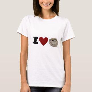 I heart/love coffee t-shirt