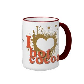 I Heart (Love) Hot Cocoa Coffee Mug