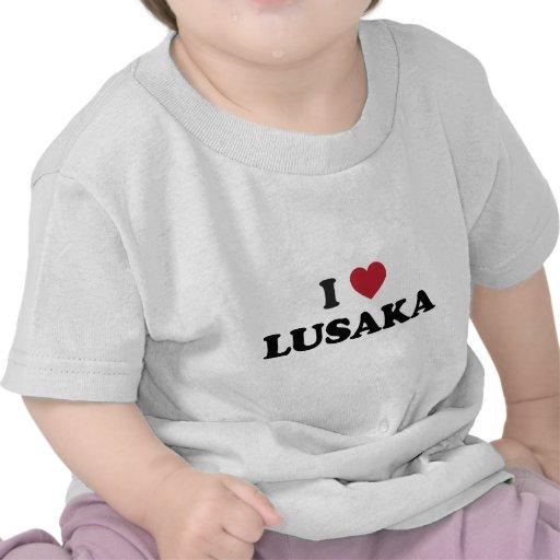 I Heart Lusaka Zambia T Shirts