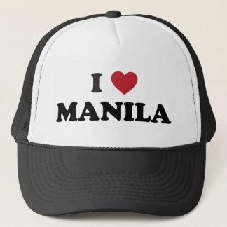 I Heart Manila Philippines Trucker Hat
