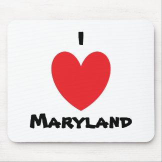I Heart Maryland Mousepad