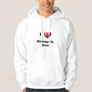 I Heart Massage by Dene Hoodie