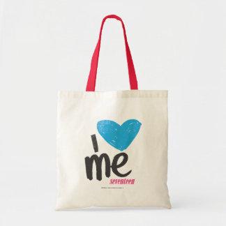 I Heart Me Aqua Tote Bag