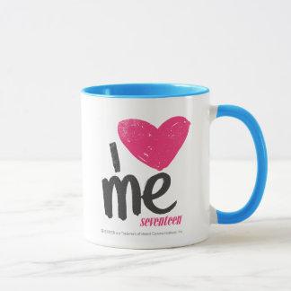 I Heart Me Magenta Mug