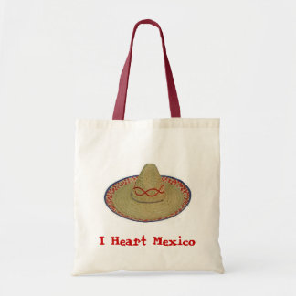 I Heart Mexico Tote Bag